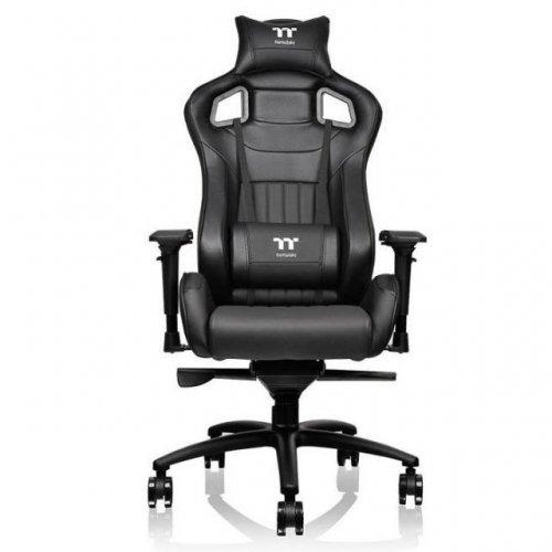 Геймърски стол TteSports X Fit 100, Черен (снимка 1)