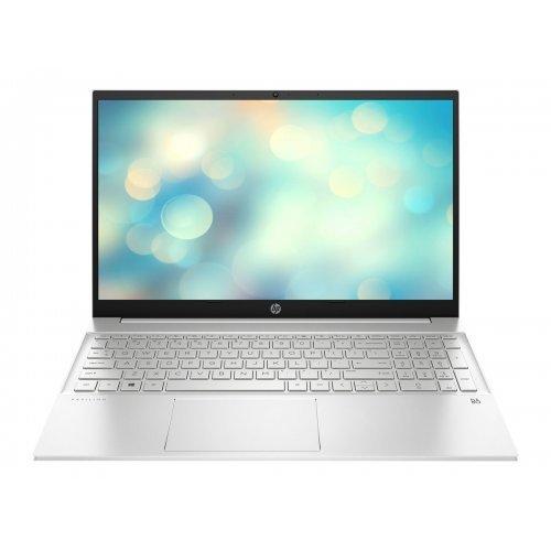 "Лаптоп HP Pavilion 15-eh0029nu, сребрист, 15.6"" (39.62см.) 1920x1080 (Full HD) без отблясъци IPS, Процесор AMD Ryzen 7 4700U (8x/8x), Видео AMD Radeon Graphics, 16GB DDR4 SDRAM RAM, 512GB SSD диск, без опт. у-во, FreeDOS ОС, Клавиатура- светеща с БДС (снимка 1)"