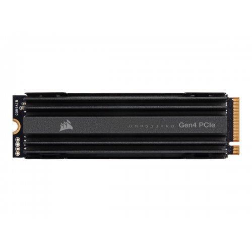 SSD CORSAIR 2TB MP600 PROM.2 PCIe Gen4 x4 NVMe SSD 7000/6550 MB/s (снимка 1)