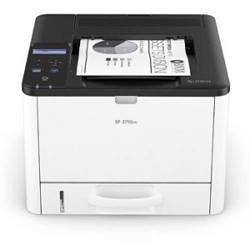 Принтер RICOH SP3710DN, USB, LAN, 7000 ст. стартов тонер, 34 ppm (снимка 1)