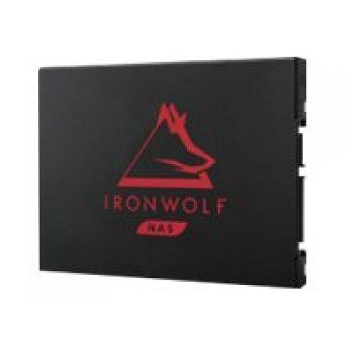 Твърд диск SEAGATE IronWolf 125 SSD 250GB SATA 6Gb/s 2.5inch height 7mm 3D TLC 24x7 BLK (снимка 1)