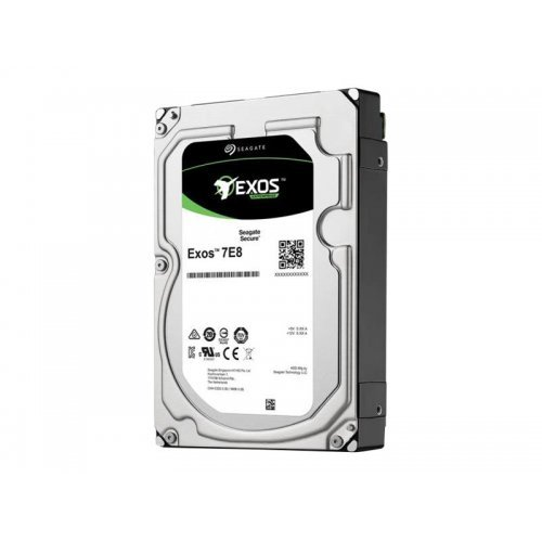 Твърд диск SEAGATE EXOS 7E8 Enterprise Capacity 1TB HDD 7200rpm SAS 256MB cache 3.5inch 24x7 512Native BLK (снимка 1)