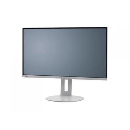 Монитор FUJITSU Display B27-9 27inch TE QHD EU Business Line Ultra Narrow 5-in-1 stand marble grey DP HDMI DVI 4xUSB (снимка 1)