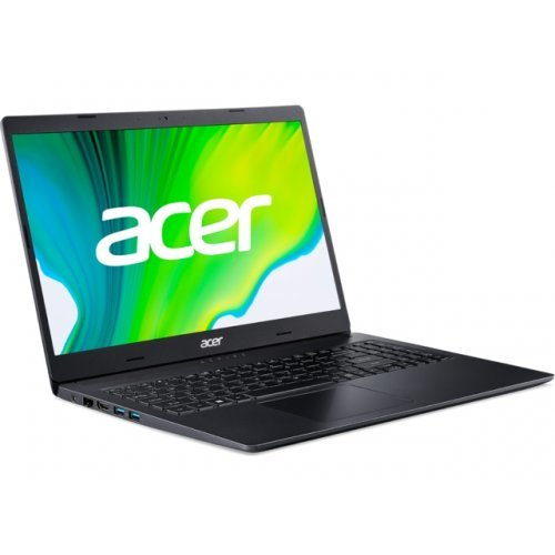 "Лаптоп Acer Aspire 3 A315-57G-363T, черен, 15.6"" (39.62см.) 1920x1080 (Full HD), Процесор Intel Core i3-1005G1 (2x/4x), Видео NVIDIA GeForce MX330/ 2GB GDDR5, 8GB DDR4 RAM, 1TB HDD диск, без опт. у-во, Linux ОС (снимка 1)"