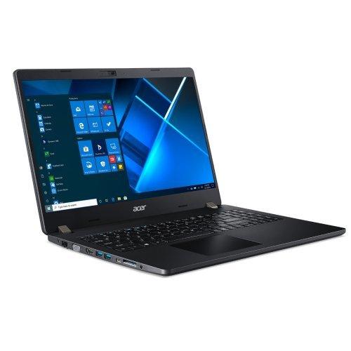 """Лаптоп Acer Travelmate P215-53-57V3, черен, 15.6"""" (39.62см.) 1920x1080 (Full HD) без отблясъци 60Hz IPS, Процесор Intel Core i5-1135G7 (4x/8x), Видео Intel HD, 8GB DDR4 RAM, 512GB SSD диск, без опт. у-во, Windows 10 Pro 64 ОС, Клавиатура- светеща с БДС (снимка 1)"""