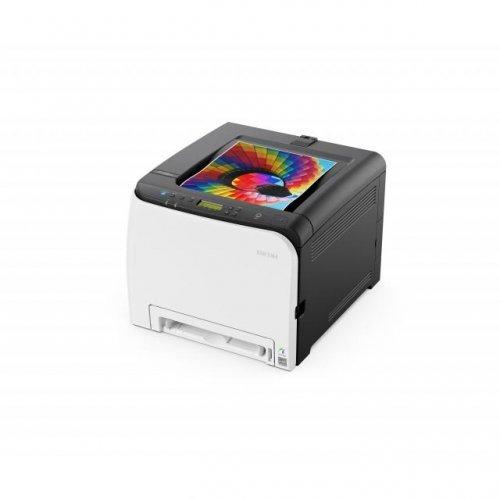 Принтер RICOH SP C261DNw, A4, USB, LAN, WiFi, 2400x600dpi, 20 стр/мин (снимка 1)