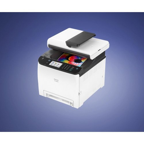 Принтер RICOH M C250FWB, ADF, А4, WiFi, 25ppm, UHY, Мултифункционално цветно лазерно устройство (снимка 1)