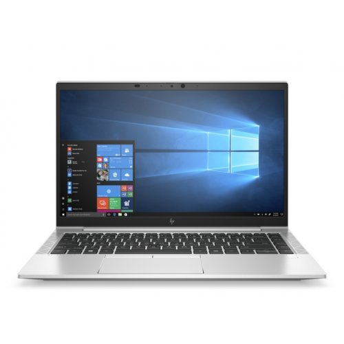 "Лаптоп HP EliteBook 845 G7, Ryzen 7 Pro 4750U(1.7Ghz, up to 4.1GH/8MB/8C), 14"" FHD UWVA 1000 nits AG with Privacy + WebCam 720p, 16GB 3200Mhz 1DIMM, 512GB PCIe SSD, WiFi 6AX200 + BT, Backlit Kbd, FPR, 3C Long Life 3Y Warr, Win 10 Pro 64 bit (снимка 1)"