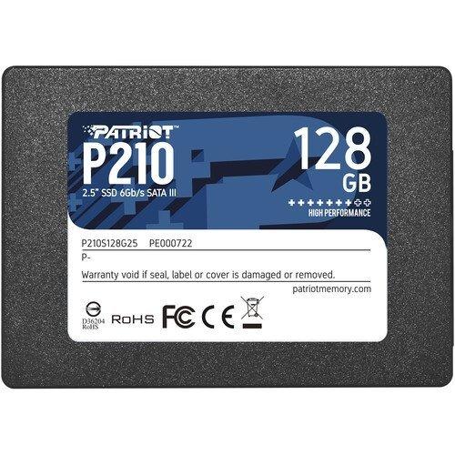 SSD Patriot 128GB P210 SATA3 2.5 (снимка 1)