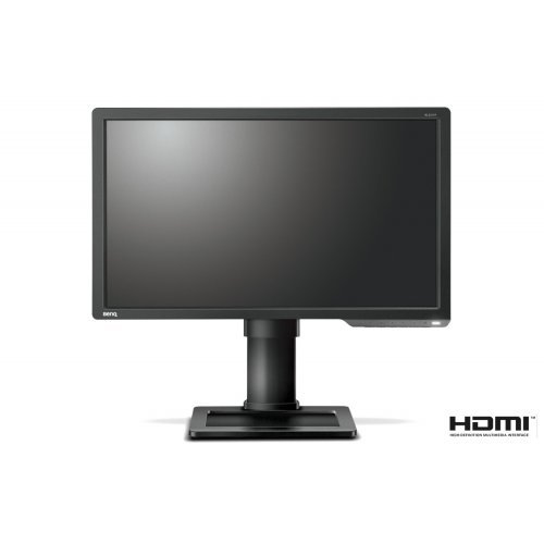 "Монитор BenQ Zowie XL2411P, 24"" Wide TN LED, 144Hz, 1ms GTG, 1000:1, 12M:1 DCR, 350 cd/m2, 1920x1080 FullHD, DVI, HDMI, DP, Flicker-free, Black eQualizer, Color Vibrance?, Height Adjustment, Swivel, Pivot, Tilt, Dark Grey (снимка 1)"
