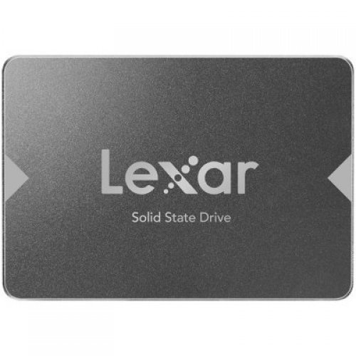 "SSD LEXAR 256GB NS100, 2.5"", SATA (6Gb/s), up to 520MB/s Read and 440 MB/s write (снимка 1)"