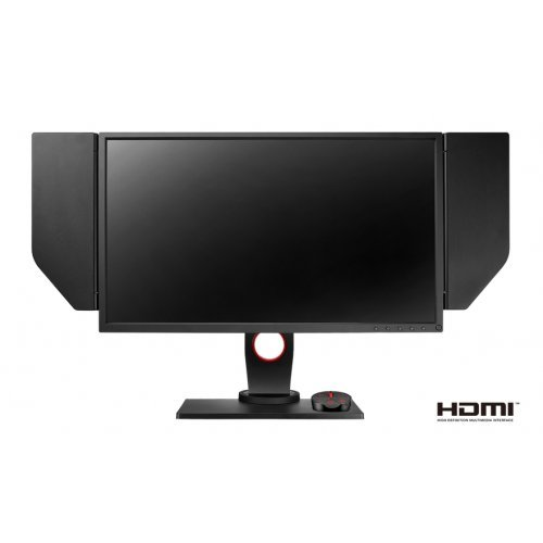 "Монитор BenQ Zowie XL2546, 24.5"", 240Hz, 1ms, e-Sports TN, 1920x1080 FHD, DyAc, Dynamic Accuracy, Black eQualizer, Color Vibrance?, LBL, Flicker-free, 1000:1, 12M:1 DCR, 320 cd/m2, HDMI x2, DP, DVI, Height Adj., Pivot, Swivel, Tilt, Dark Gray (снимка 1)"