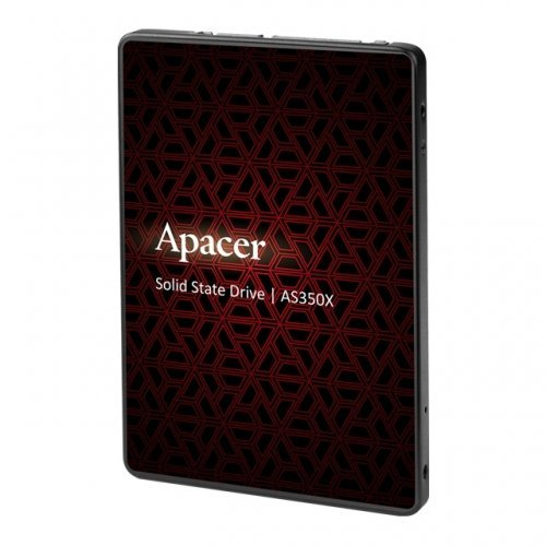 "SSD Apacer 512GB AS350X 2.5"" 7mm SATAIII, Standard (Single) (снимка 1)"