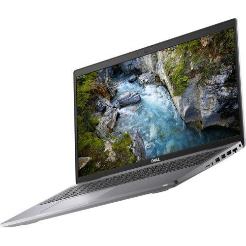 "Лаптоп Dell Precision 3560, Intel Core i5-1135G7 (4 Core, 8MB Cache, 2.4 GHz), 15.6""FHD (1920x1080) 250 nit, 16GB DDR4 3200Mhz, M.2 512GB SSD, Intel Iris Xe Graphics, Wi-Fi 6, BT 5.1, Backlit Bg Kbd, Windows 10 Pro, 3Yr Basic Onsite (снимка 1)"