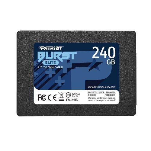SSD Patriot 240GB Burst Elite SATA3 2.5 (снимка 1)