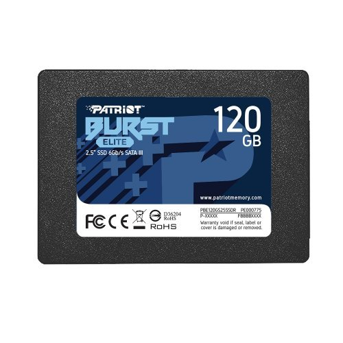 SSD Patriot 120GB Burst Elite SATA3 2.5 (снимка 1)