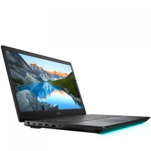 """Лаптоп Dell Inspiron Gaming G5 5500, черен, 15.6"""" (39.62см.) 1920x1080 (Full HD) без отблясъци WVA, Процесор Intel Core i5-10300H (4x/8x), Видео nVidia GeForce GTX 1650 Ti/ 4GB GDDR6, 8GB DDR4 RAM, 1TB SSD диск, без опт. у-во, Linux Ubuntu 18.04 ОС, Клавиатура- светеща (снимка 1)"""