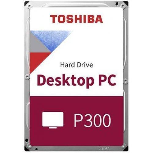 Твърд диск TOSHIBA 6TB P300, 5400rpm, 128MB, SATA 3 (снимка 1)