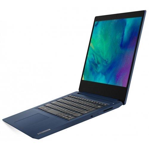"Лаптоп Lenovo IdaePad 3 14IGL05, син, 14.0"" (35.56см.) 1920x1080 (Full HD) без отблясъци TN, Процесор Intel Pentium N5030 (4x/4x), Видео Intel UHD 605, 4GB DDR4 RAM, 256GB SSD диск, без опт. у-во, без ОС, Клавиатура- с БДС (снимка 1)"