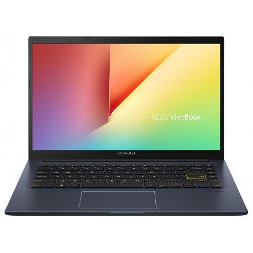 "Лаптоп Asus VivoBook 14 M413IA-EB369T, син, 14.0"" (35.56см.) 1920x1080 (Full HD) без отблясъци IPS, Процесор AMD Ryzen 5 4500U (6x/6x), Видео AMD Radeon Vega 6, 8GB DDR4 RAM, 512GB SSD диск, без опт. у-во, Windows 10 64 ОС (снимка 1)"