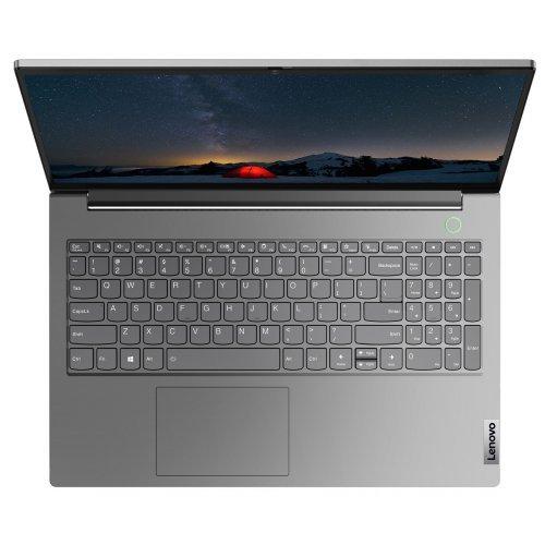"Лаптоп Lenovo ThinkBook 15 G2 AMD Ryzen 3 4300U (2.7GHz up to 3.7GHz, 4MB), 8GB DDR4 2666MHz, 256GB SSD, 15.6"" FHD (1920x1080), IPS, AG, Intel UHD Graphics, WLAN ac, BT, 720p Cam, Mineral Grey, KB Backlit, FPR, 3 cell, DOS, 2Y (снимка 1)"