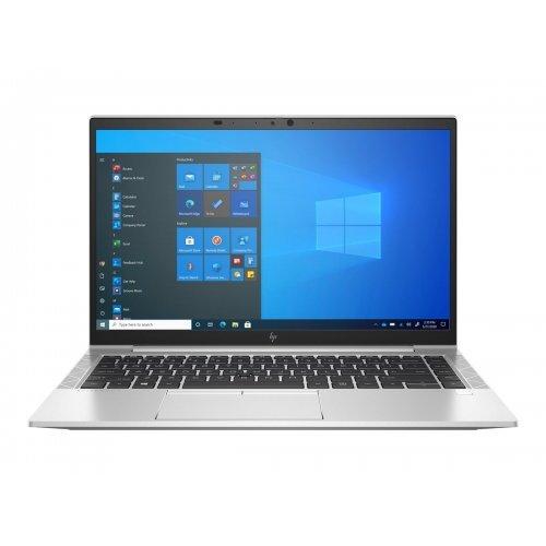 "Лаптоп HP EliteBook 840 G8, сребрист, 14.0"" (35.56см.) 1920x1080 (Full HD) без отблясъци 60Hz IPS, Процесор Intel Core i5-1135G7 (4x/8x), Видео Intel Iris Xe Graphics, 16GB DDR4 SDRAM RAM, 512GB SSD диск, без опт. у-во, Windows 10 Pro 64 (при поискване) ОС, Клавиатура- светеща с БДС (снимка 1)"