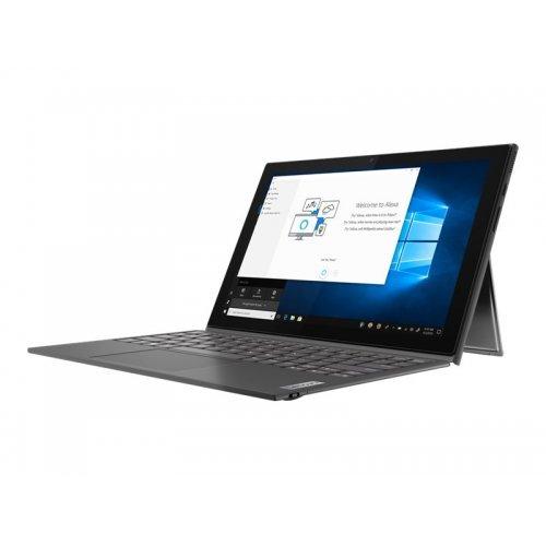 """Лаптоп Lenovo Duet 3 , сив, 10.3"""" 1920x1200 (WUXGA) лъскав тъч, Процесор Intel Pentium N5030 (4x/4x), Видео Intel UHD 605, 8GB DDR4 RAM, 128GB eMMC диск, без опт. у-во, Windows 10 Pro 64 English ОС, Клавиатура- с БДС (снимка 1)"""