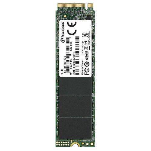 SSD Transcend 1TB, M.2 2280,PCIe Gen3x4, M-Key, 3D TLC, DRAM-less (снимка 1)