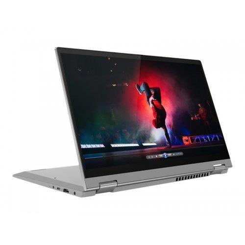 """Лаптоп-таблет Lenovo Laptop-Tablet IdeaPad Flex 5 14ALC05 82HU, 2 в 1, сив, 14.0"""" (35.56см.) 1920x1080 (Full HD) лъскав IPS тъч, Процесор AMD Ryzen 5 5500U (6x/12x/7x), Видео AMD Radeon Graphics, 8GB DDR4 RAM, 512GB SSD диск, без опт. у-во, Windows 10 64 ОС, Клавиатура- светеща с БДС (снимка 1)"""