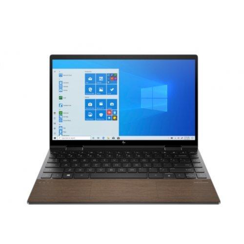 "Лаптоп HP Envy x360 13-ay0032nn, 2 в 1, черен, 13.3"" (33.78см.) 1920x1080 (Full HD) лъскав 60Hz IPS тъч, Процесор AMD Ryzen 7 4700U (8x/8x), Видео AMD Radeon Graphics, 16GB DDR4 RAM, 1TB SSD диск, без опт. у-во, Windows 10 ОС, Клавиатура- светеща (снимка 1)"