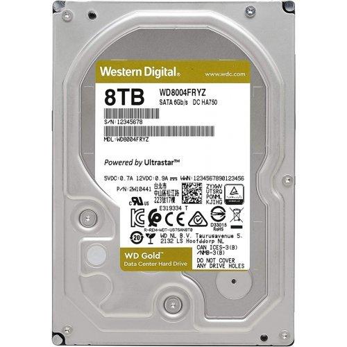 Твърд диск Western Digital 8 TB Gold Datacenter HDD - SATA 6Gb/s 7200 rpm 128MB (снимка 1)