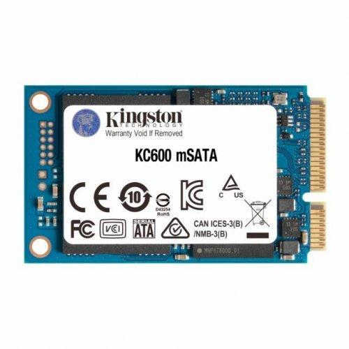 SSD KINGSTON 512GB KC600, mSATA (снимка 1)
