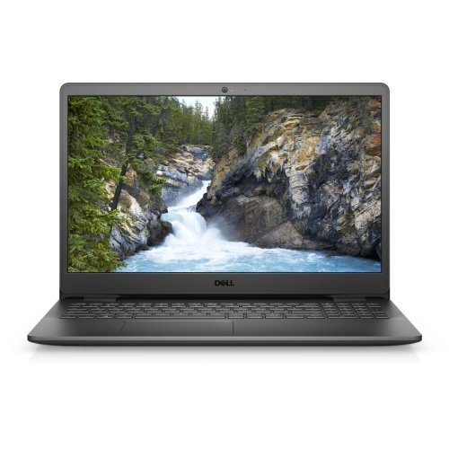"Лаптоп Dell Vostro 3500, Intel Core i5-1135G7 (8M , up to 4.2 GHz), 15.6"" FHD (1920x1080) WVA AG, HD Cam, 8GB, 1x8GB, DDR4, 2666MHz, 1TB SATA 2.5"", Intel Iris Xe, 802.11ac, BT, Linux, Black, 3Y BOS (снимка 1)"