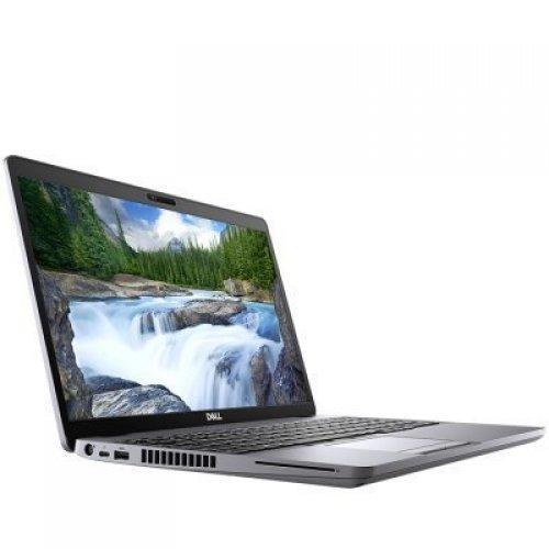 "Лаптоп Dell Latitude 15 5510, сив, 15.6"" (39.62см.) 1920x1080 (Full HD) без отблясъци 60Hz WVA, Процесор Intel Core i7-10610U (4x/8x), Видео Intel UHD, 16GB DDR4 RAM, 256GB SSD диск, без опт. у-во, Linux Ubuntu ОС, Клавиатура- светеща (снимка 1)"