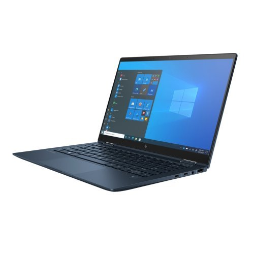 "Лаптоп HP Elite Dragonfly G2, син, 13.3"" (33.78см.) 1920x1080 (Full HD) лъскав 60Hz IPS тъч, Процесор Intel Core i7-1165G7 (4x/8x), Видео Intel UHD, 16GB LPDDR4X RAM, 1TB SSD диск, без опт. у-во, Windows 10 Pro 64 ОС, Клавиатура- светеща с БДС (снимка 1)"