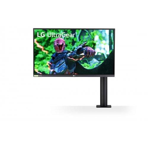 """Монитор LG 27"""" 27GN880-B, QHD (2560x1440) Nano IPS 1ms (GtG), 144Hz Refresh Rate, nVidia G-Sync, AMD FreeSync Premium (снимка 1)"""