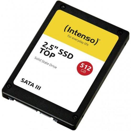 "SSD Intenso 512 GB TOP, 2.5"", SATA3 (снимка 1)"