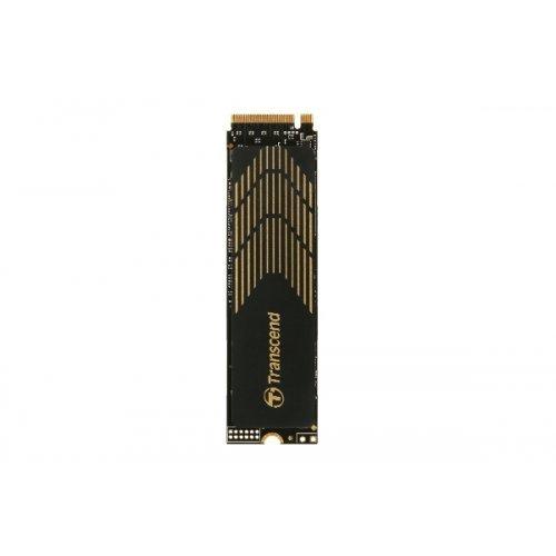 SSD Transcend 500GB, M.2 2280, PCIe Gen4x4, M-Key, 3D TLC, with Dram (снимка 1)