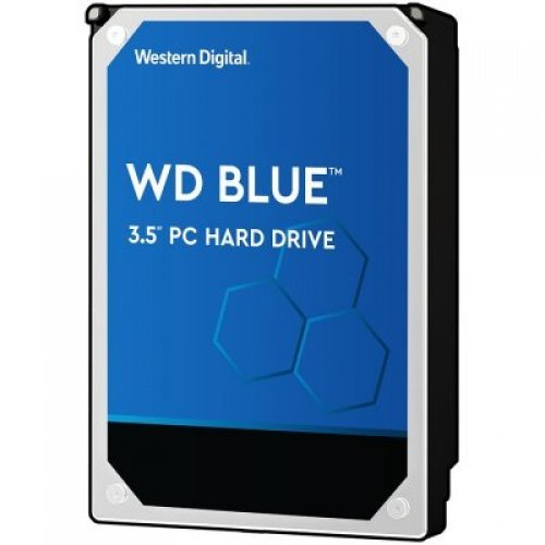 Твърд диск Western Digital 2TB Blue (3.5'', 256MB, 7200 RPM, SATA 6 Gb/s) (снимка 1)