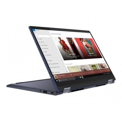 "Лаптоп-таблет Lenovo Yoga 6 13ARE05 82FN - Flip design - Ryzen 5 4500U / 2.3 GHz - Win 10 Home 64-bit - 8 GB RAM - 512 GB SSD NVMe - 13.3"" IPS touchscreen 1920 x 1080 (Full HD) - Radeon Graphics - Bluetooth, Wi-Fi 6 - abyss blue - kbd: Bulgarian (снимка 1)"