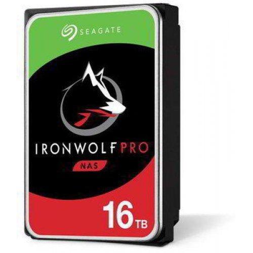 Твърд диск Seagate 16TB IronWolf Pro, 256MB Cache, SATA3 6Gb/s (снимка 1)