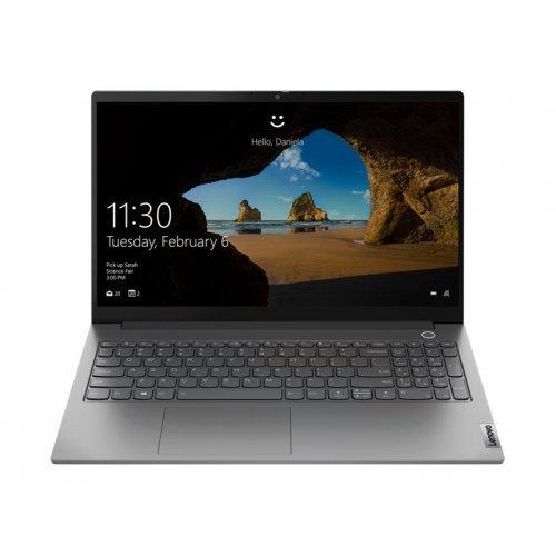 "Лаптоп Lenovo ThinkBook 15 G2 ITL 20VE, сив, 15.6"" (39.62см.) 1920x1080 (Full HD) без отблясъци IPS, Процесор Intel Core i7-1165G7 (4x/8x), Видео Intel Iris Xe Graphics, 8GB DDR4 RAM, 256GB SSD диск, без опт. у-во, Windows 10 Pro 64 English ОС, Клавиатура- светеща с БДС (снимка 1)"