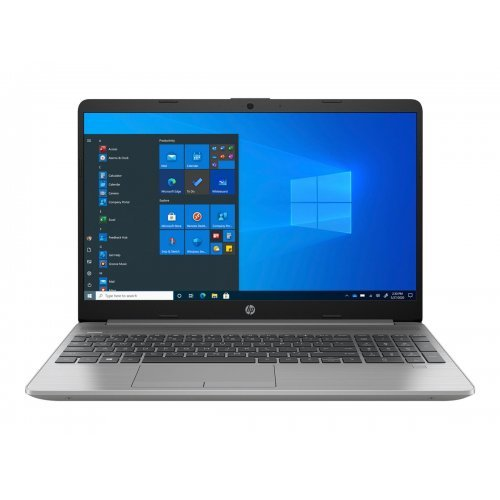 "Лаптоп HP 250 G8, сребрист, 15.6"" (39.62см.) 1920x1080 (Full HD) без отблясъци TN, Процесор Intel Core i3-1005G1 (2x/4x), Видео Intel UHD Graphics, 8GB DDR4 RAM, 256GB SSD диск, без опт. у-во, FreeDOS ОС, Клавиатура- с БДС (снимка 1)"
