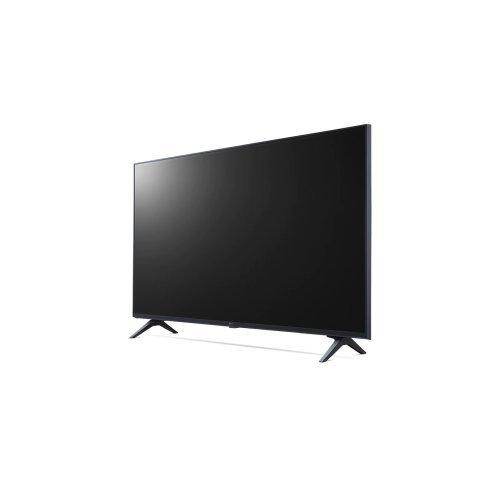 "Телевизор LG 60UP80003LA, 60"" 4K IPS UltraHD TV 3840 x 2160, DVB-T2/C/S2, webOS Smart TV, ThinQ AI, Quad Core Processor 4K, WiFi 802.11ac, HDR10, HLG,  ALLM / HGiG, AI Sound, Voice Controll, Wi-Di, Miracast / AirPlay 2,  HDMI, CI, LAN, USB, Bluetooth, Crescent S (снимка 1)"