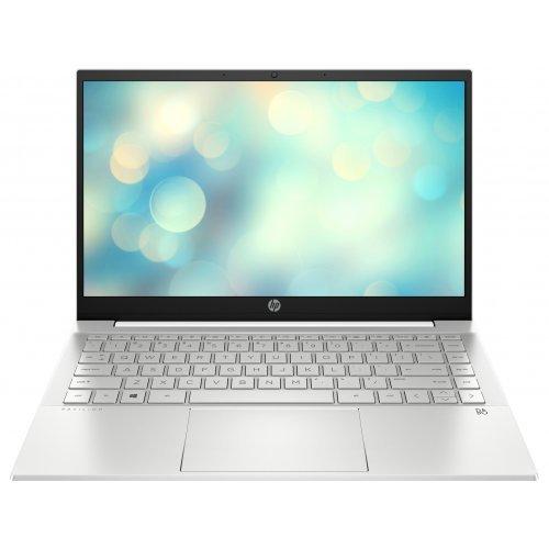 """Лаптоп HP Pavilion, бял, 14.0"""" (35.56см.) 1920x1080 (Full HD) без отблясъци IPS, Процесор Intel Core i3-1115G4 (2x/4x), Видео Intel UHD Graphics, 8GB DDR4 RAM, 256GB SSD диск, без опт. у-во, FreeDOS ОС, Клавиатура- светеща с БДС (снимка 1)"""