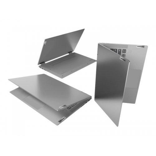 """Лаптоп-таблет Lenovo Laptop-Tablet IdeaPad Flex 5 14ALC05 82HU, 2 в 1, сив, 14.0"""" (35.56см.) 1920x1080 (Full HD) лъскав IPS тъч, Процесор AMD Ryzen 3 5300U (4x/8x/6x), Видео AMD Radeon- 6 cores, 8GB DDR4 RAM, 256GB SSD диск, без опт. у-во, Windows 10 64 English ОС, Клавиатура- светеща с БДС (снимка 1)"""