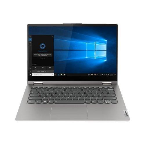 "Лаптоп-таблет Lenovo Laptop-Tablet ThinkBook 14s Yoga ITL 20WE, 2 в 1, сив, 14.0"" (35.56см.) 1920x1080 (Full HD) лъскав IPS тъч, Процесор Intel Core i7-1165G7 (4x/8x), Видео Intel Iris Xe Graphics, 16GB DDR4 RAM, 512GB SSD диск, без опт. у-во, FreeDOS ОС, Клавиатура- светеща с БДС (снимка 1)"
