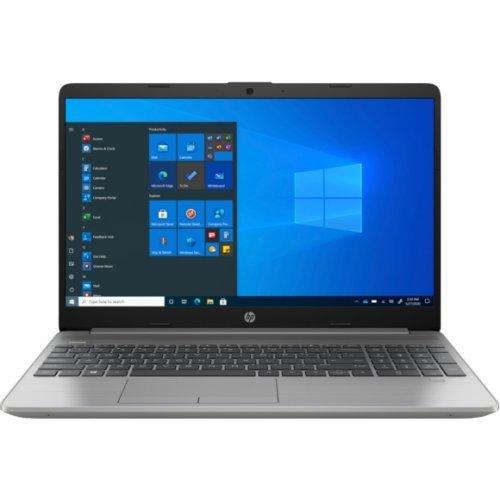"Лаптоп HP 250 G8, сребрист, 15.6"" (39.62см.) 1920x1080 (Full HD) без отблясъци TN, Процесор Intel Core i5-1035G1 (4x/8x), Видео Intel UHD Graphics, 8GB DDR4 RAM, 512GB SSD диск, без опт. у-во, FreeDOS ОС, Клавиатура- с БДС (снимка 1)"