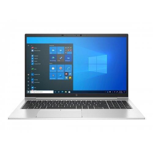 """Лаптоп HP EliteBook 850 G8, сребрист, 15.6"""" (39.62см.) 3840x2160 (4K Ultra HD) без отблясъци 60Hz IPS, Процесор Intel Core i7-1165G7 (4x/8x), Видео nVidia GeForce MX450/ 2GB GDDR5, 32GB DDR4 SDRAM RAM, 1TB SSD диск, без опт. у-во, Windows 10 Pro 64 (при поискване) ОС, Клавиатура- светеща с БДС (снимка 1)"""