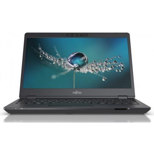 """Лаптоп Fujitsu Lifebook U7311, черен, 13.0"""" (33.02см.) 1920x1080 (Full HD) без отблясъци, Процесор Intel Core i5-1135G7 (4x/8x), Видео Intel Iris Xe Graphics, 8GB DDR4 RAM, 256GB SSD диск, без опт. у-во, Windows 10 Pro 64 ОС, Клавиатура- светеща (снимка 1)"""